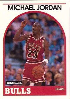 b52169ed7dd Amazon.com: 1989-90 NBA Hoops #200 Michael Jordan Basketball Card - Chicago  Bulls: Collectibles & Fine Art