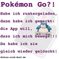Pokemon Go will, dass ich mich bewege!