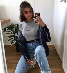 pin: b e l l e The post pin: b e l l e appeared first on Kleidung ideen. pin: b e l l e The post pin: b e l l e appeared first on Kleidung ideen. Trend Fashion, Grunge Fashion, Look Fashion, Girl Fashion, Fashion Outfits, 90s Fashion, Modest Fashion, Fashion Ideas, Mode Outfits