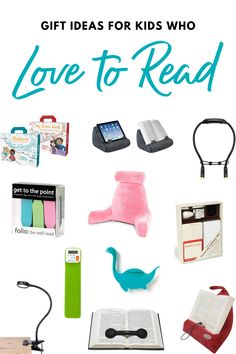 Gifts for kids who love to read!