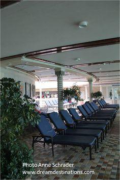 Navigator of the Seas Outdoor Sofa, Outdoor Furniture, Outdoor Decor, Navigator Of The Seas, Royal Caribbean Cruise, Sun Lounger, Places To Travel, Vacation, Home Decor