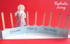 Great idea for getting the kids involved in the Divine Mercy Novena.
