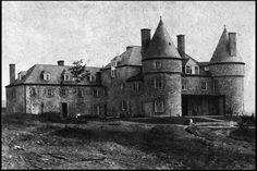 "Rosamond's family estate ""Grey Towers"" Milford Pennsylvania. Circa 1885"