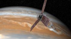 Jupiter: Nasa-Sonde Juno kommt Gasriese so nah wie nie