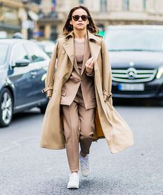 How to Wear Sneakers When You're Not in Your 20s Anymore via @WhoWhatWearUK