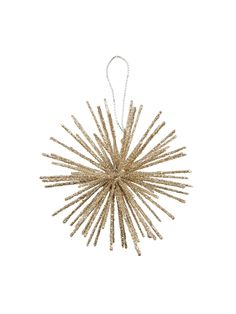 Small Starburst Ball Ornament by Gilt Home Collection $4