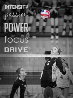 Give it your all! #playhard #dreambig #volleyball