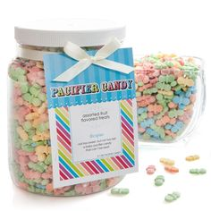 Baby Pacifier Candy - 1/2 Gallon Container - Baby Shower Candy Do It Yourself $18.99