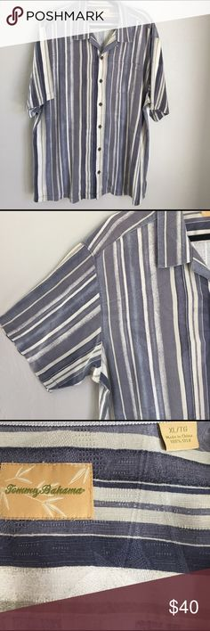 🌺Tommy Bahama Tommy Bahama men's silk shirt XL. Tommy Bahama Shirts Casual Button Down Shirts