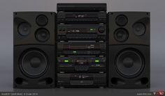 Kenwood M959CD MIDI system