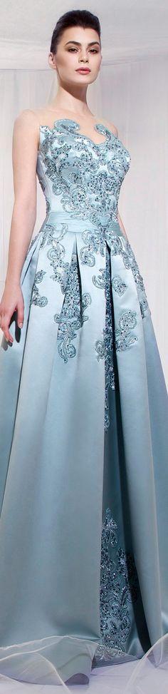 Woow!! Me encanta este vestido. Tarek Sinno SS 2014