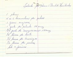 Recette secrète de salade de chou comme au PFK! Oven Roasted Turkey, Roast Turkey Breast, Old Recipes, Peta, Comme, Bullet Journal, Drink, Barbecue, Buffet