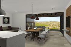 Vista 3D interior de la villa tipo de 2 plantas.  #3d #architecture3d #artlantis #Archicad #model3d #design3d #render #rendering #3dmodel #3ddesign #renderings #Photoshop
