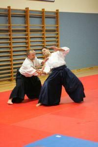 Tanto-Dori: Günther Steger am Aikido Lehrgang in Linz 9./10.11.2012