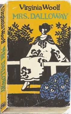 Richard Baker Book Cover Series  mrs Dalloway by Virginia Woolf  via Remodelista