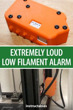 This is a simple, cheap, and loud low filament alarm you can add to bottom up filament feed direction 3D printers.  #Instructables #Fusion360 #3Dprint #accessory