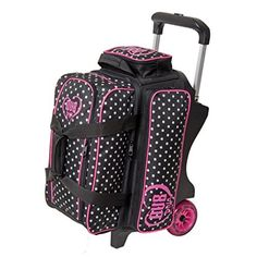 Dv8 Diva 2 Ball Roller Bowling Bag Dots