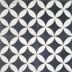 Cement Tile Shop - Encaustic Cement Tile: Contemporary Collection - STENCIL IDEA one tile painted floor idea Tile Patterns, Textures Patterns, Style Tile, Painted Floors, Contemporary Decor, Floor Rugs, Architecture Art, Modern, Cement Tiles