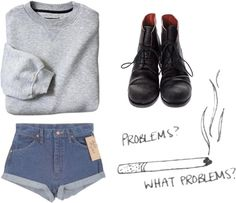 """""""problems"""" by not-inez ❤ liked on Polyvore"""
