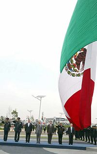 Mexico Wins Most Beautiful Flag in the World Contest