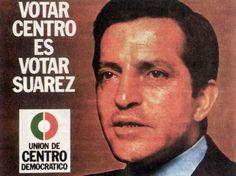 Cartel de UCD. Elecciones Generales de 1977. 166 escaños.