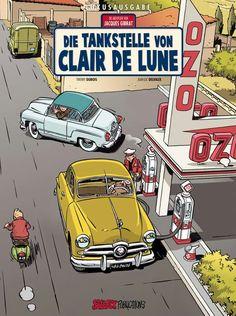 Car Illustration, Illustrations, Microcar, Old Garage, Ligne Claire, Bd Comics, Cartoon Sketches, Learn Art, Classic Comics
