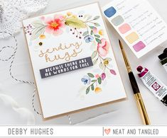 Choosing A Colour Palette With Debby - Neat and Tangled