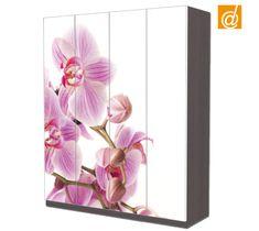 """Sbocciano fiori sul tuo armadio Ikea Pax.  www.decorailtuoarmadio.com Visita la categoria """"Floreali"""""""