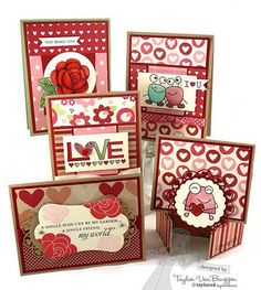 Taylored Expressions, cute Valentine cards.