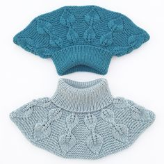 Ravelry: Løvfallhals / Falling Leaves Collar pattern by Strikkelisa