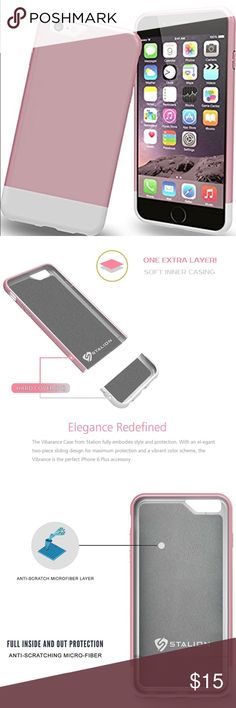 """📱Electronics- iPhone 6/6s case Designed for the Apple iPhone 6 & iPhone 6S (4.7""""). Slim, lightweight and form fitted world class design. The Matte-UV finish. Slider case comes with 2 pieces that fit into each other for easy removal. Interior is made of micro-fiber felt that provides for smooth placement and mild shock-absorption. Lifetime Replacement Warranty. ✅Great deal!✅ Save with bundle discounts💰 I also offer customized bundles🛍  Interested? Leave a comment below 👇🏼…"""