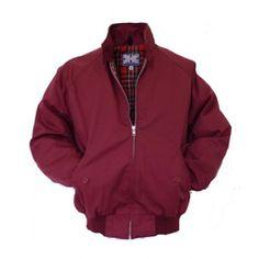 Harrington Jacket by Combat - Wine  http://scootssuitsandboots.com/harrington-jacket-by-combat-wine.php