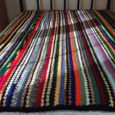A personal favorite from my Etsy shop https://www.etsy.com/listing/516043845/vertical-stripes-multi-color-country