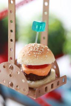 Receita do Mini Burger por Zest Kids
