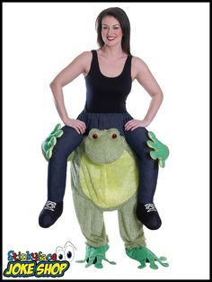Carry Me Ride On A Beer Garden Girl Maiden Oktoberfest Costume Riding Piggyback