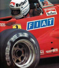 cf9f8a1a2994 Scuderia Ferrari SpA SEFAC...Ferrari 126C4...Motor Ferrari 031 V6 t  1.5...1984
