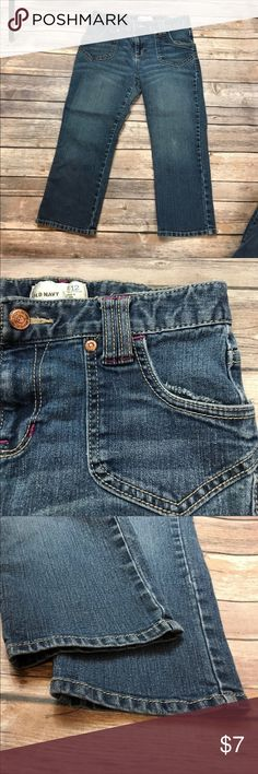 💜size 12 Old Navy Jean Capris Adjustable waist Old Navy Bottoms Shorts