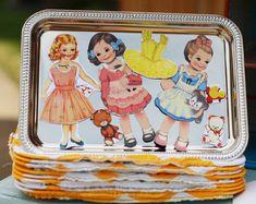 Dollhouse party favors
