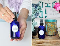 Rebekah shares a simple homemade room spray recipe along with her favorite essential oil scents to mix! Also download our free printable labels!