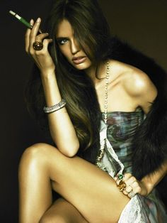 Morning Beauty | Bianca Balti by Alexi Lubomirski