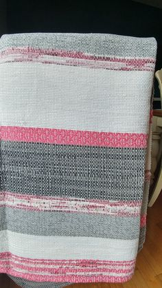 Beautiful Catalonia woven for queen bed or double * price reduced as slight imperfections *. Yarn Projects, Projects To Try, Linen Curtains, Tapestry Weaving, Boutique, Fiber Art, Bedding Sets, Loom, Crochet
