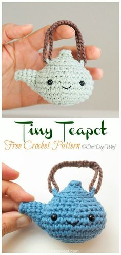 New Images Crochet crafts patterns Ideas Amigurumi Teacup Free Crochet Patterns Crochet Food, Crochet Gifts, Cute Crochet, Knit Crochet, Crochet Cross, Crochet Things, Crochet Amigurumi Free Patterns, Crochet Dolls, Knitting Patterns