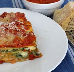 3-cheese lasagna with butternut squash and spinach | Mother Would Know