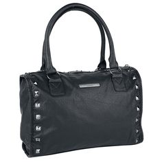 Ladies Studded Handbag by Black Premium by EMP