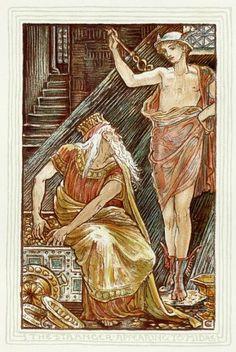 A Wonder Book (Illustrated by Walter Crane) Walter Crane, King Midas, Ancient Myths, Wonder Book, Fine Art Prints, Canvas Prints, Greek Mythology, Classical Mythology, Roman Mythology