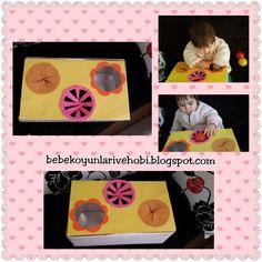 Bebek oyunları ve hobi:  Yine...