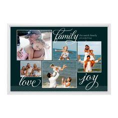 Family Sentiments Canvas Print, White, Single piece, 20 x 30 inches, Black