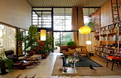 Cherles and Ray Eames House (Case Study House No. 8), 1949, Los Angeles, CA