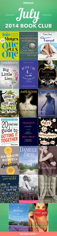 Pin for Later: 20 New July Books You Need to Read This Summer
