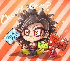 DBZ level 4 Goku awww